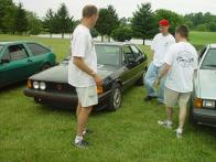 Ron, Brett, and Daun check out Daun's Mk 1 S
